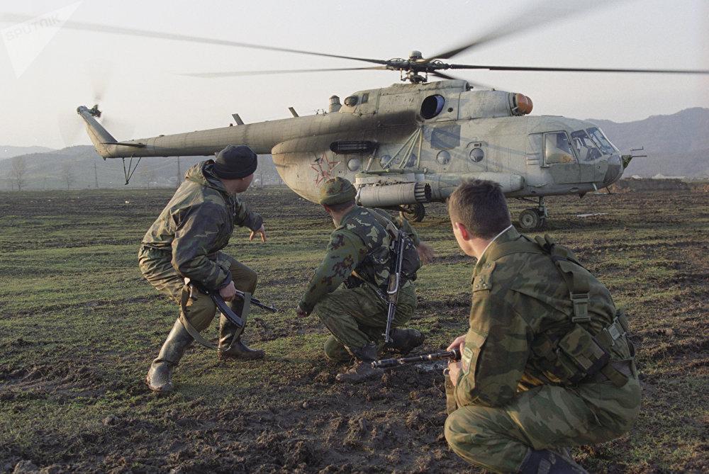 Combates en Chechenia, abril del año 2000