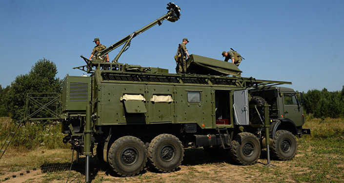 El despliegue del sistema de guerra electrónica Krasuja-4