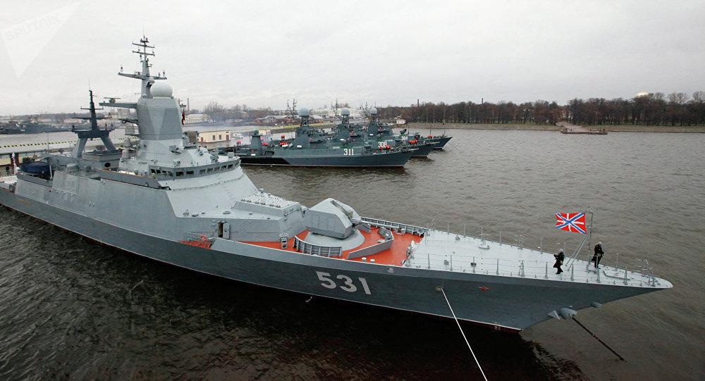 La corbeta rusa Soobrazitelni de proyecto 20380
