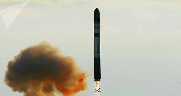 Un misil balístico (imagen referencial)