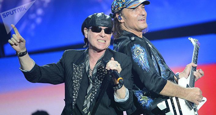 Concierto de Scorpions en Moscú