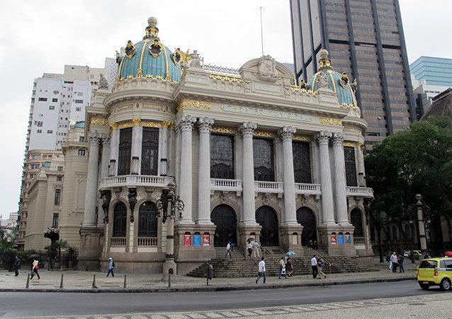El Teatro Municipal de Río de Janeiro