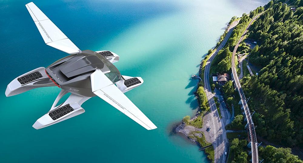 Formula, el carro volador de Hoversurf