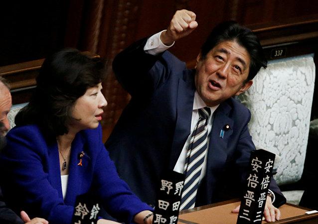 Shinzo Abe reelegido primer ministro de Japón