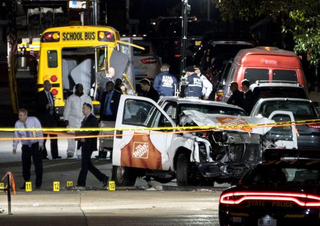Atentado en Nueva York: imágenes desde el lugar de la tragedia
