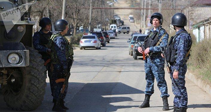 Una operación antiterrorista (imagen referencial)