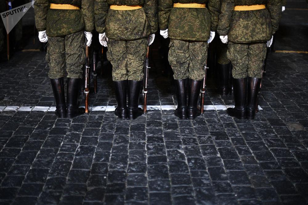 El histórico desfile militar del 7 de noviembre de 1941 vuelve a la Plaza Roja
