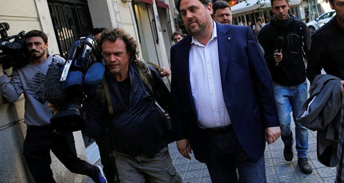 Oriol Junqueras, el exvicepresidente de Cataluña
