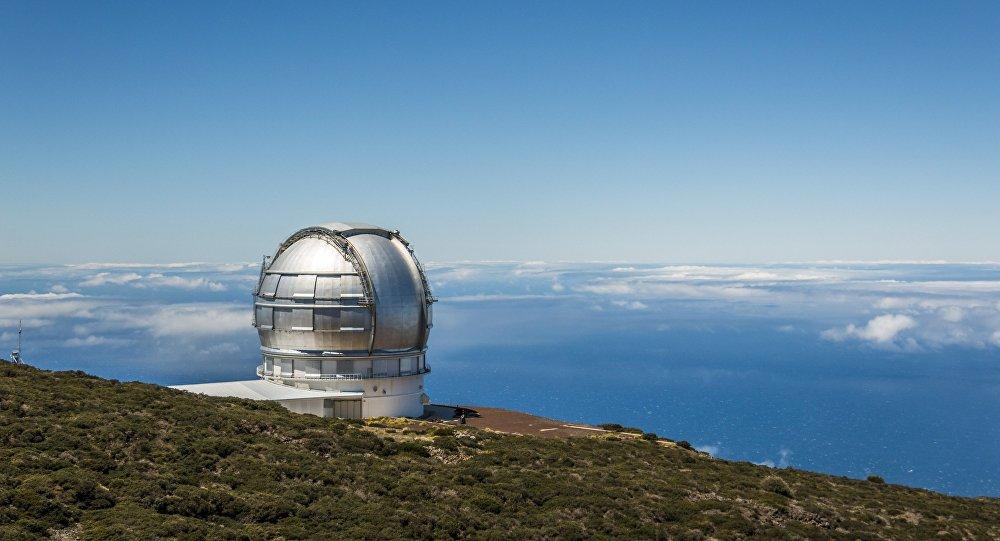 Telescopio de de observación astronómica (imagen referencial)