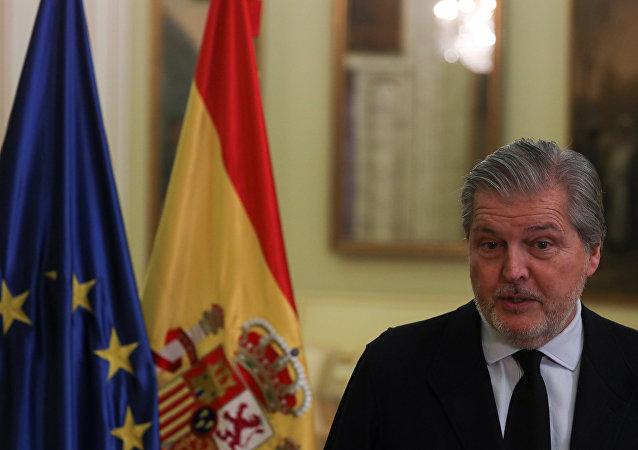 Íñigo Méndez de Vigo, portavoz del Gobierno español