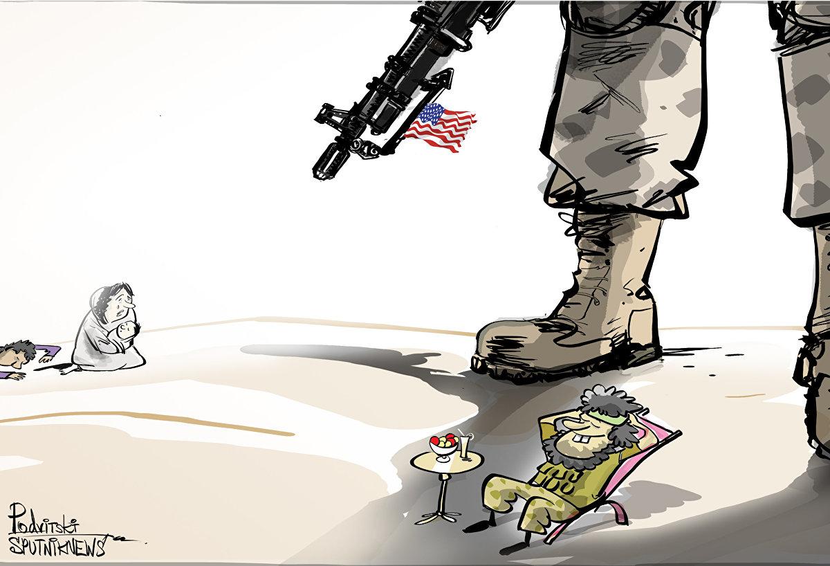 EEUU prepara un campamento 'todo incluido' para combatientes en el sur de Siria