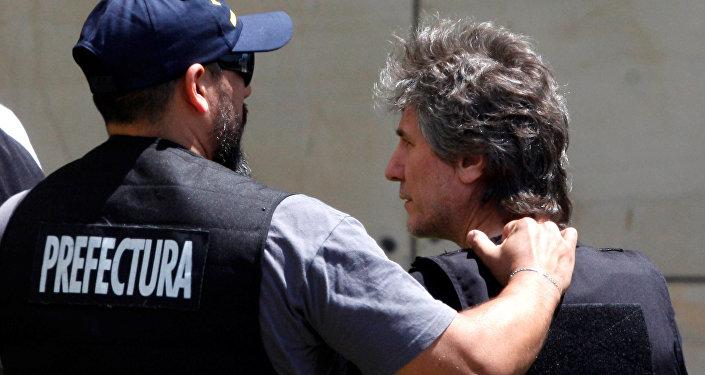 Detención de Amado Boudou, exvicepresidente de Argentina