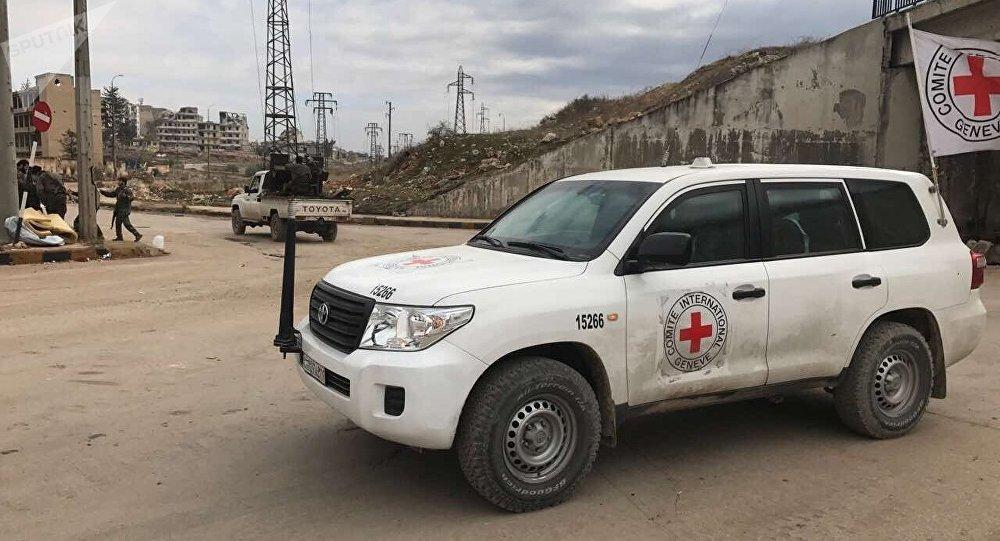 La Cruz Roja en Siria (archivo)