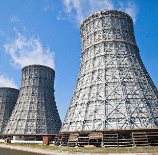 Central energética en Rusia