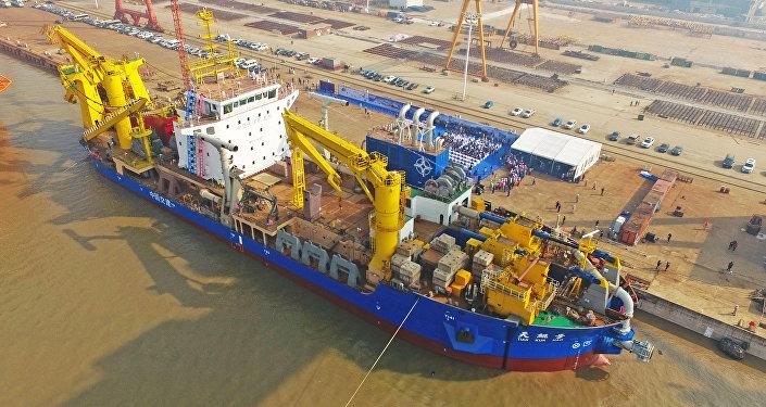 Tian Kun Hao, la nueva embarcación draga de China para construir islas