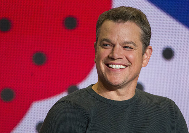Matt Damon, actor norteamericano (archivo)