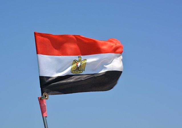 Bandera de Egiptob (archivo)