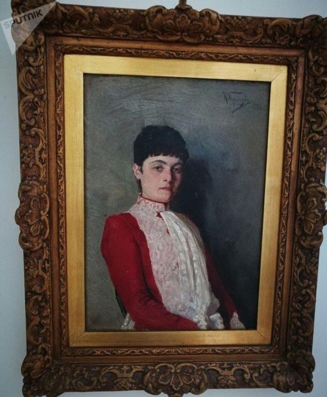 Retrato de Sofía Rostok, madre de Dussia Lutski de Tretiakov