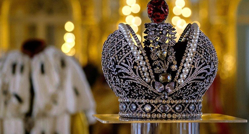 La corona de los emperadores rusos