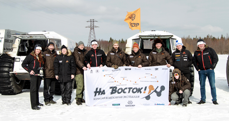 Los aventureros de la expedición 'Na vostok!'