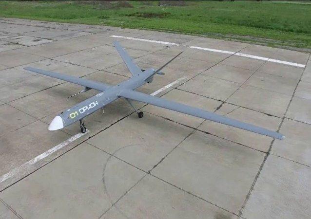El dron ruso Orion (imagen referencial)