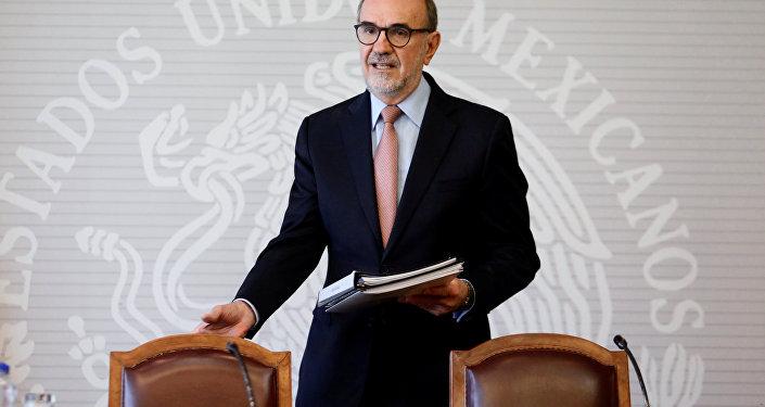 El subsecretario para América del Norte del Gobierno de México, Carlos Manuel Sada Solana