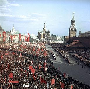 Una manifestación en la Plaza Roja (archivo)