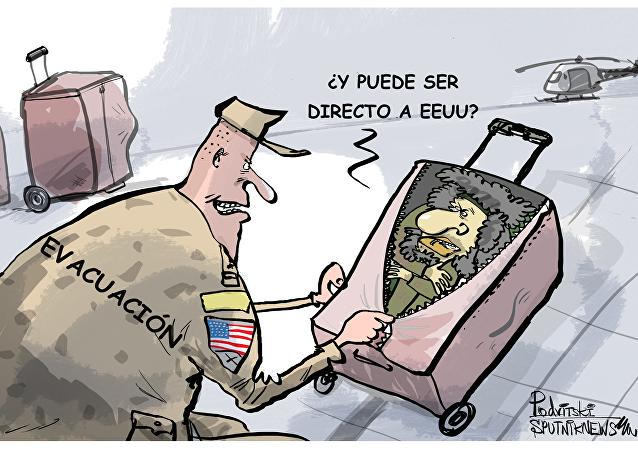 Combatientes de Daesh son evacuados con helicópteros estadounidenses