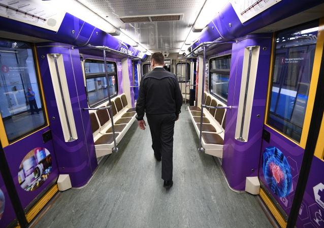 'Rusia rumbo al futuro', el nuevo tren temático del metro moscovita
