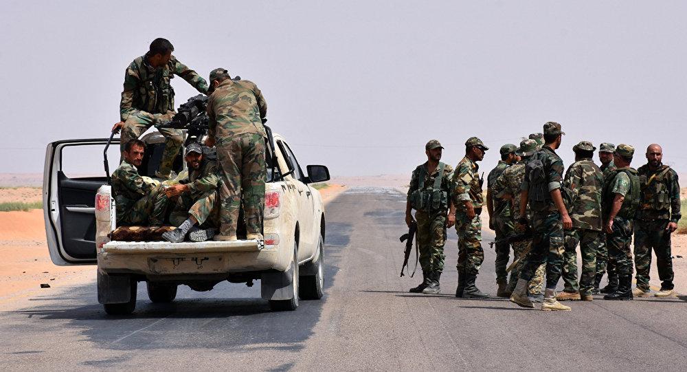 El Ejército sirio liberó la ciudad Bukamal de los terroristas