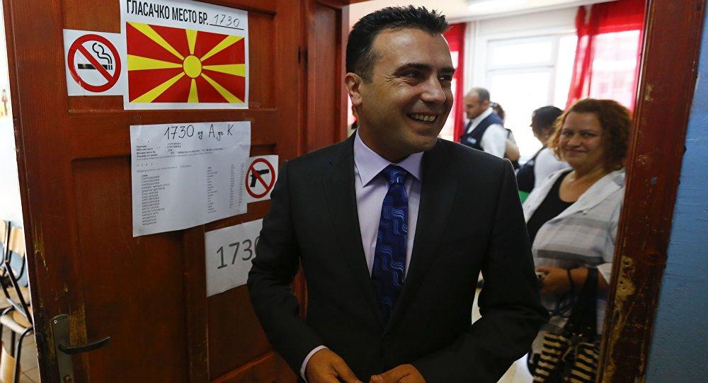 Zoran Zaev, primer ministro de Macedonia