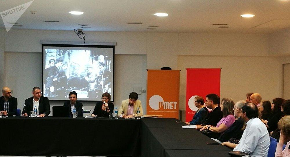 Debate sobre el impacto de la Revolución rusa en la Universidad Metropolitana del Trabajo (UMET),Buenos Aires