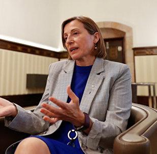 Carme Forcadell, expresidenta del Parlamento de Cataluña