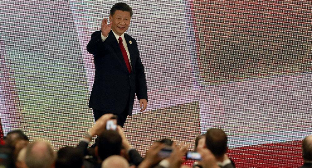 El presidente de China, Xi Jinping, durante la cumbre de la APEC