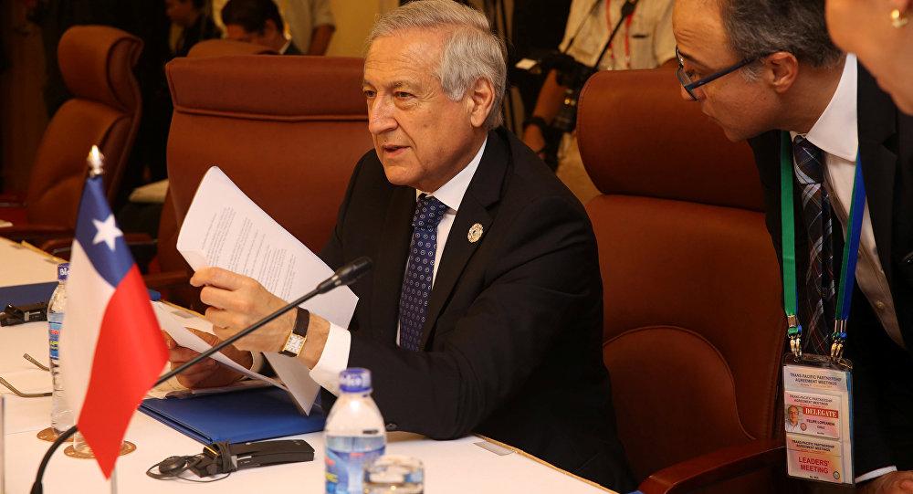 Heraldo Muñoz, el ministro de Exteriores de Chile durante la cumbre de la APEC