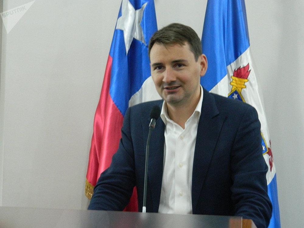 Oleg Arsenyev, representante de RITE, empresa del grupo Rostec