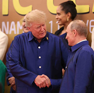 El presidente de EEUU, Donald Trump, y su homólogo ruso, Vladímir Putin