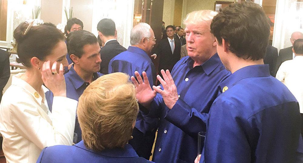 Peña Nieto y Trudeau se reúnen en foro de la APEC