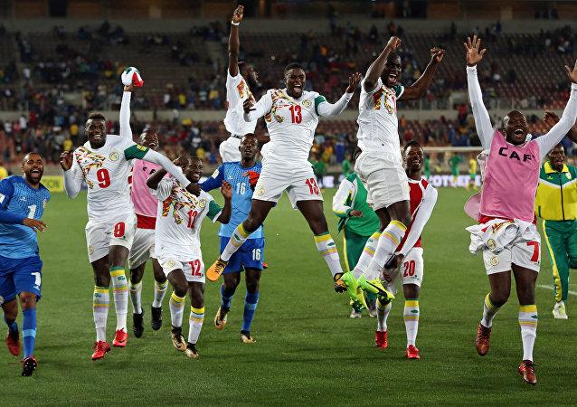 La selección de Senegal