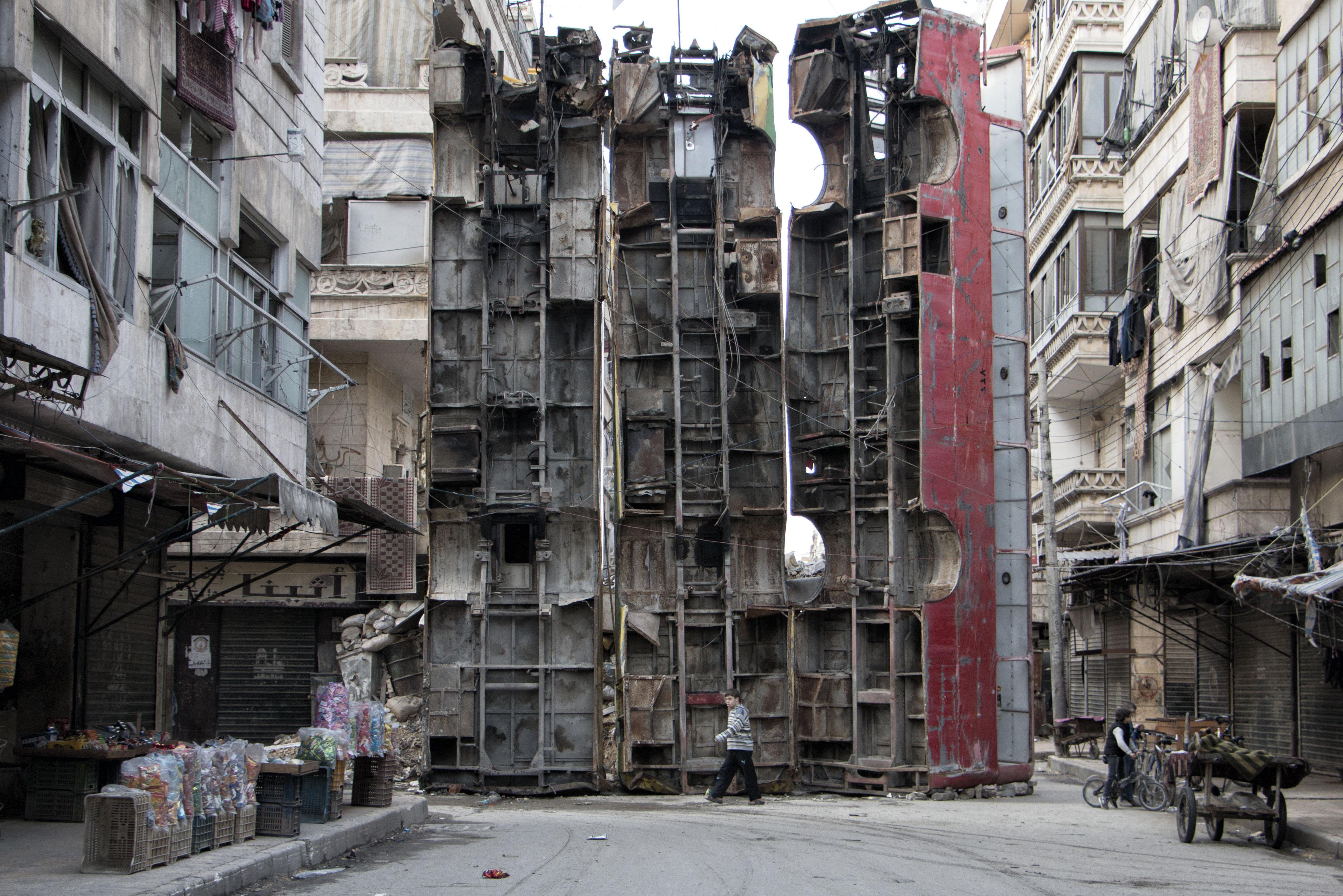 Alepo, marzo de 2015