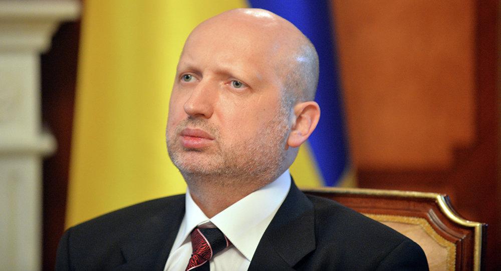 Alexandr Turchínov, secretario del Consejo de Seguridad Nacional y Defensa de Ucrania