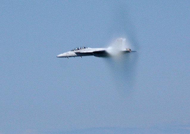Un avión hipersónico (imagen referencial)