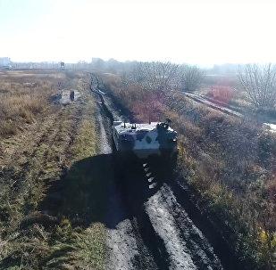 Rusia muestra su nuevo vehículo para las Fuerzas Aerotransportadas