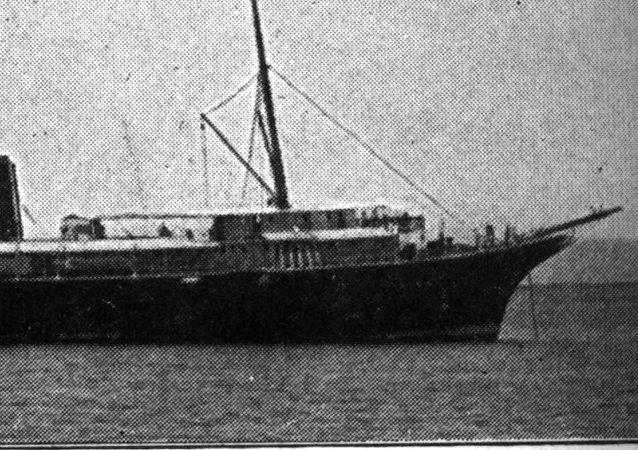 El buque chileno Itata