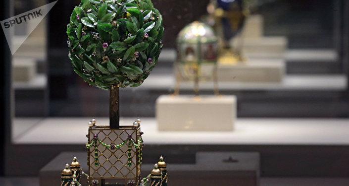 Huevo del naranjo, el taller de joyería de Fabergé