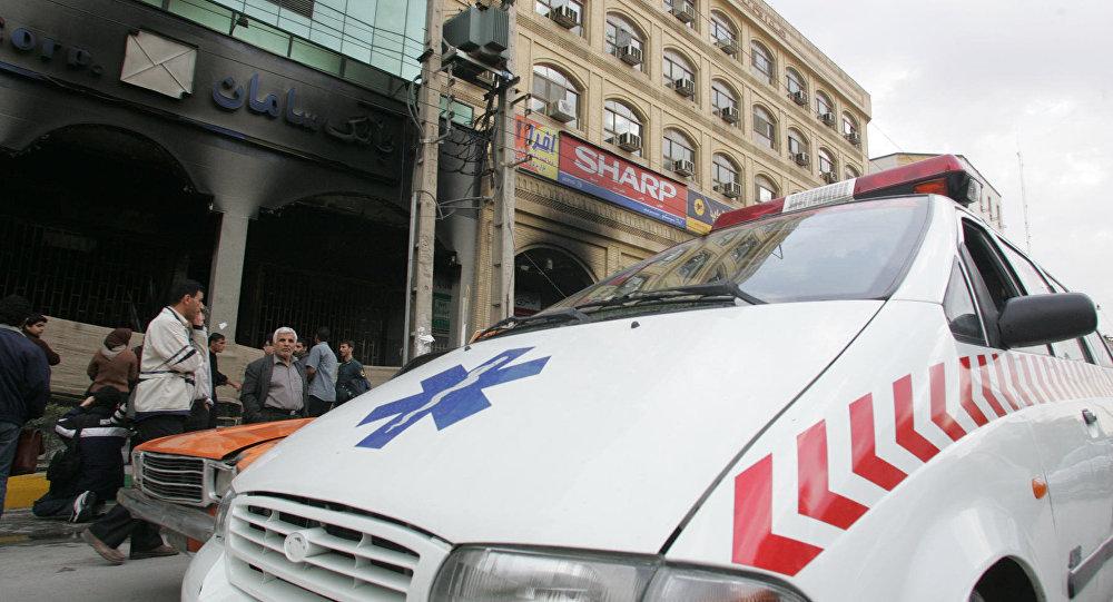 Ambulancia iraní