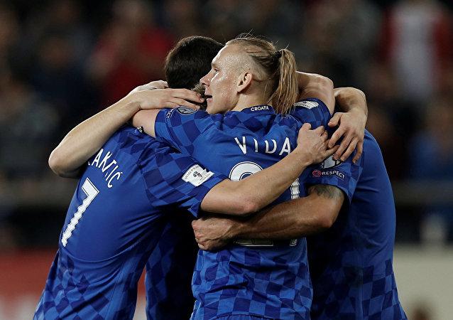 Jugadores de la selección de fútbol de Croacia