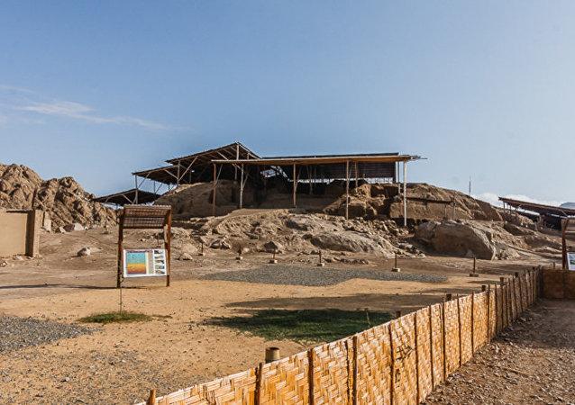 El sitio arqueológico de Ventarrón, Perú