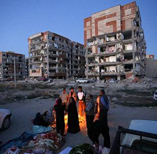 Consecuencias del terremoto en Irán