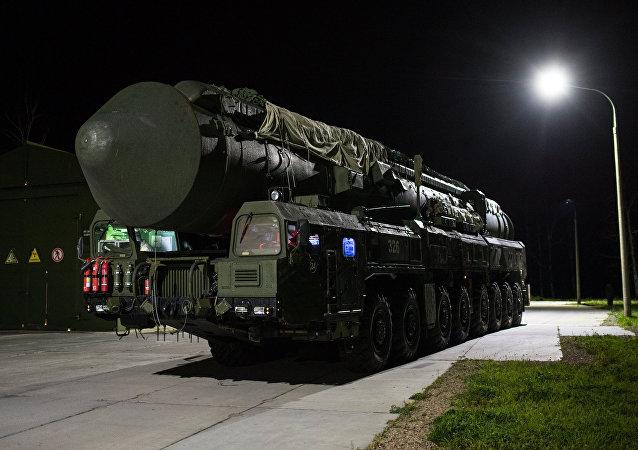 Sistema de misiles balísticos RS-24 Yars